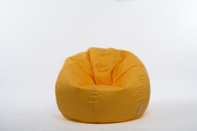летен пуф-жълт