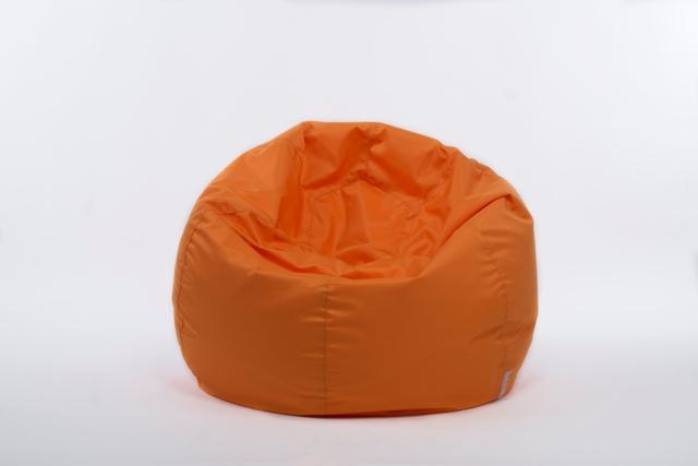 летен пуф-оранж